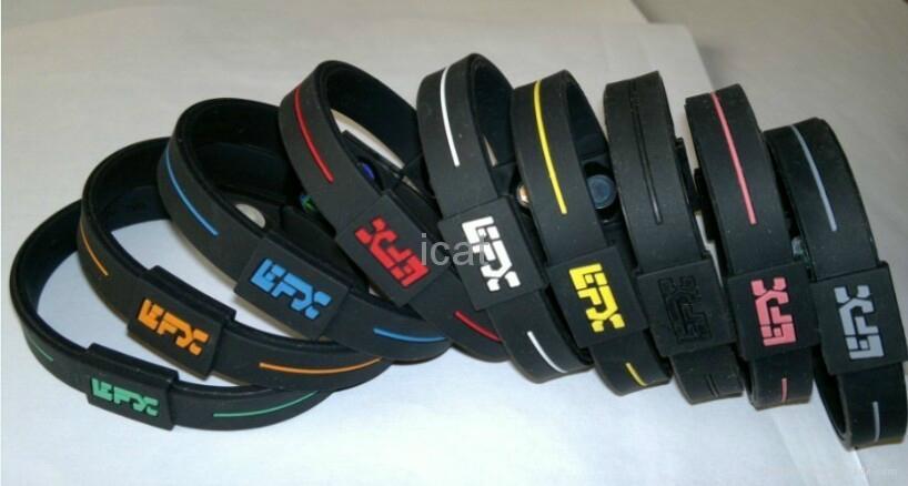 EFX Bracelet Power Band Silicone PB Wristband Health Energy Balance Bracelet 5