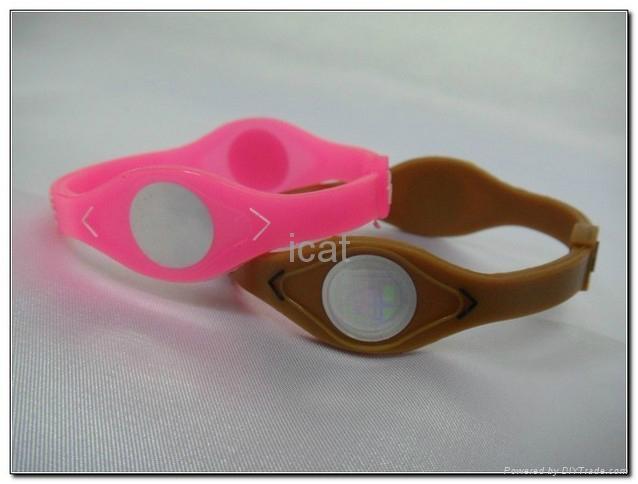 PB Bracelet Power Band Sports Silicone Wristband Health Energy Balance Bracelet 2