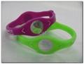 PB Bracelet Power Band Sports Silicone Wristband Health Energy Balance Bracelet 3