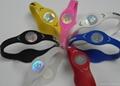 PB Bracelet Power Band Sports Silicone Wristband Health Energy Balance Bracelet 5