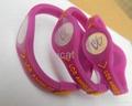 6 NBA Team Silicone Wristband PB Power Bracelet Health Energy Balance Bracelet 3