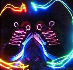 LED Shoelaces Laser Flashing Shoelaces