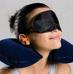 U-Shaped Pillow Travel Sleep Air Neck