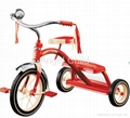 kids tricycle, double step bike