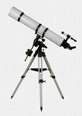 large aperture achromatic telescope