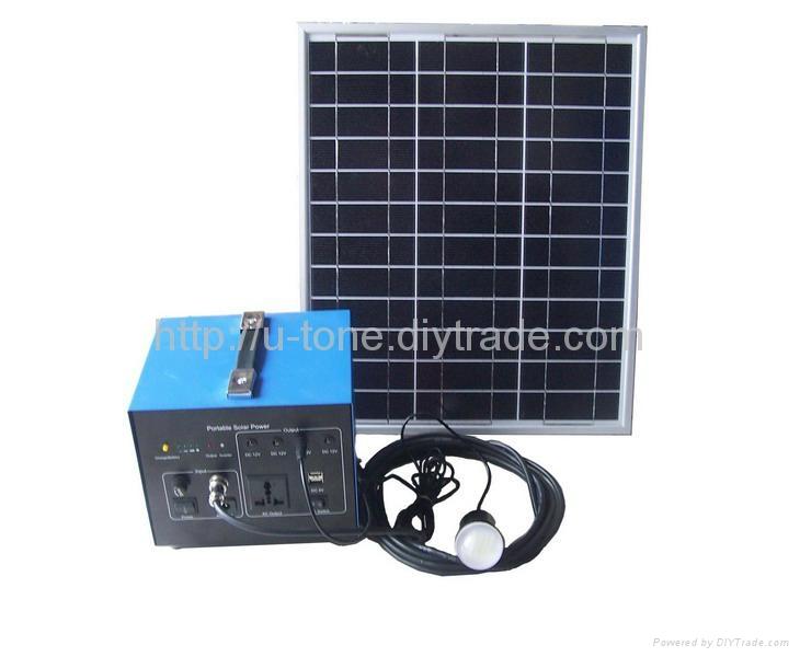 小型离网发电系统,便携式离网发电系统 3
