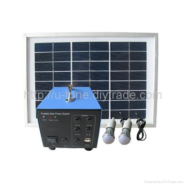 小型离网发电系统,太阳能发电系统 1