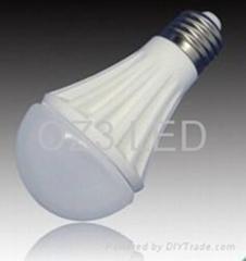Half Globe 6W Ceramic Bulb