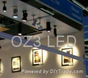 7w&8w focasable led spot light LED track light downlights 4