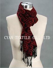 silk fashion scarf
