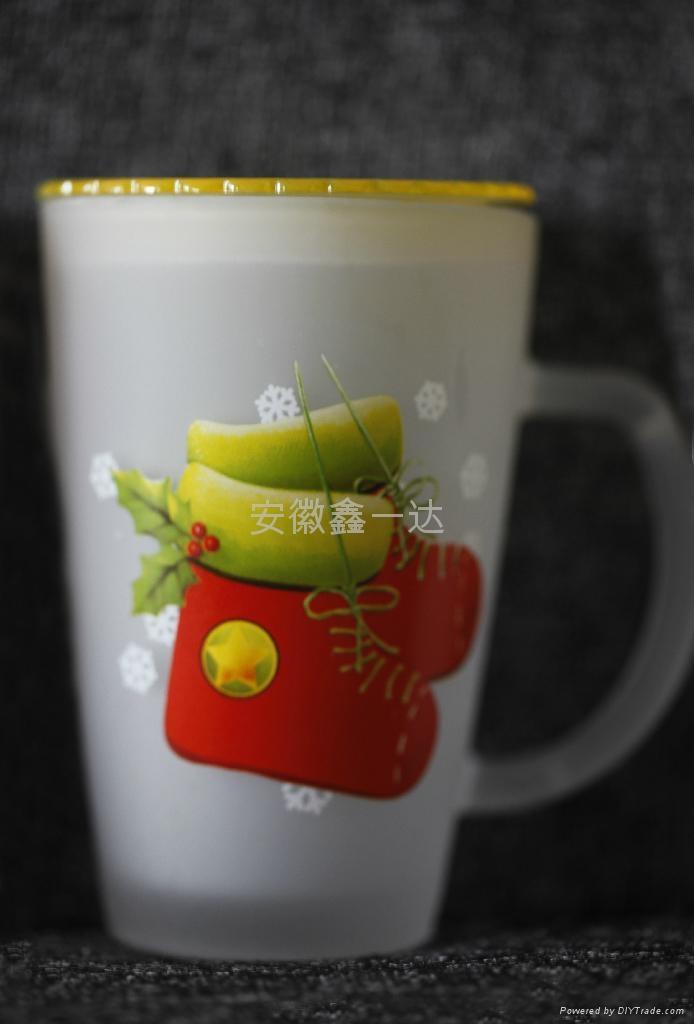 磨砂玻璃杯 3