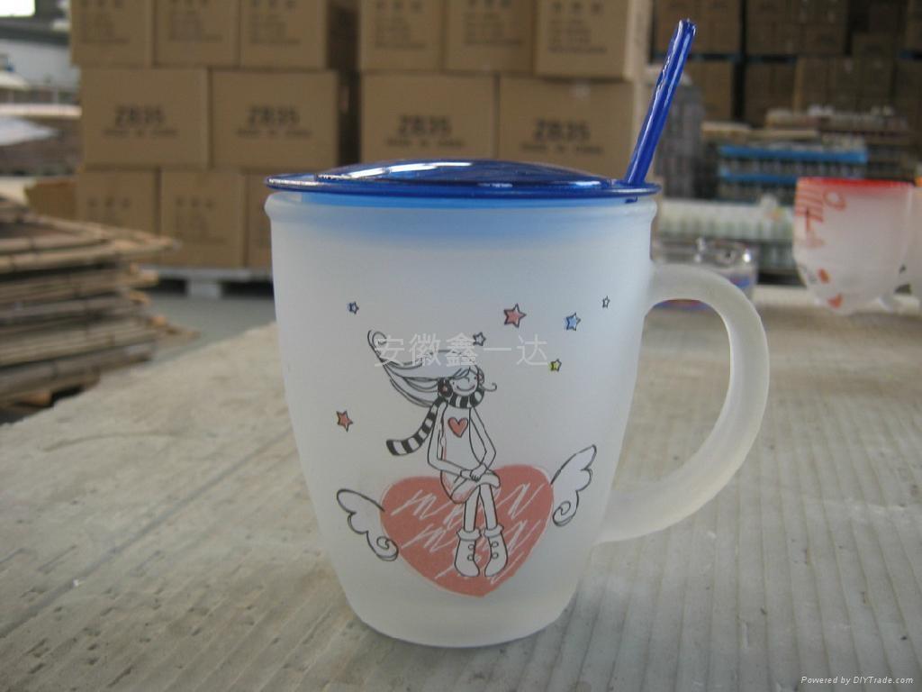磨砂玻璃杯 4
