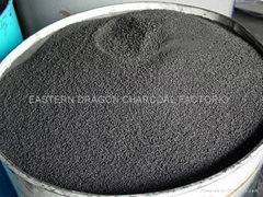 wood-based granular activated carbon for sugar decoloration
