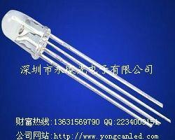 LED發光二極管 F5 F8 RGB 四腳全彩 七彩燈珠 1