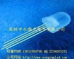 LED發光二極管 F5 F8 RGB 四腳全彩 七彩燈珠 2