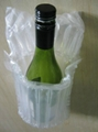 2012 Hot sale Inflatable PE column air bag for 750ml Red wine bottle packaging  3