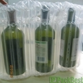 2012 Hot sale Inflatable PE column air bag for 750ml Red wine bottle packaging  4