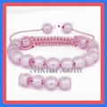 Lampwork Beads Macrame Bracelet Wholesale