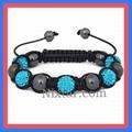 Hematite Beads And Crystal Beads Macrame