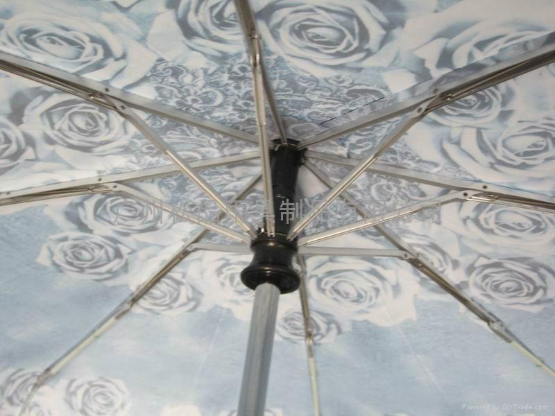 三折全自動雨傘  2