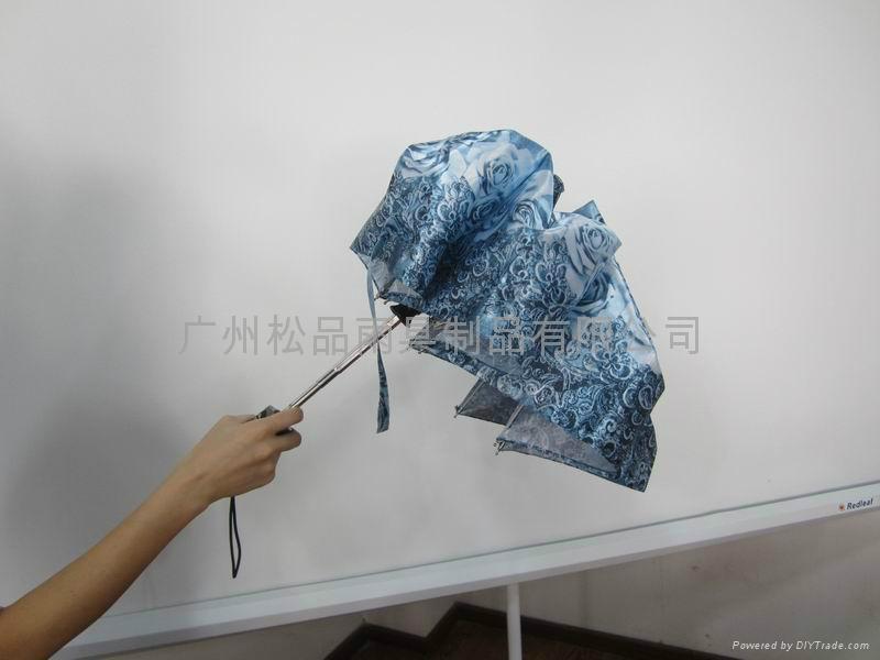 三折全自動雨傘  5