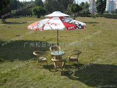 高檔庭院傘