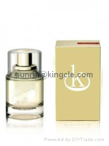 new style glass perfume bottle with cap  1