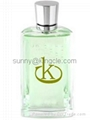 new style glass perfume bottle with cap  4