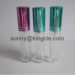 mini glass bottle