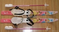 Cross Coutry children ski set with Ruber Plastic bindings and ski poles (Hot Product - 1*)