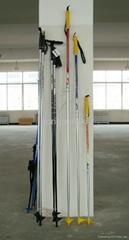 Carbon fiber cross country ski pole