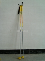 cross country ski pole/fiberglass ski pole/quality ski poles