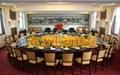 高档正品 宾力电动转盘 BL321 豪华餐桌转盘 配4米2桌 5
