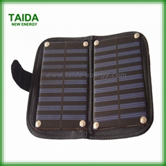 High efficiency cell phone solar charger