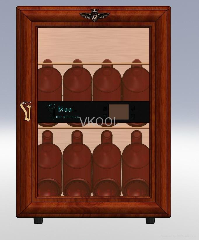 40L wood mini fridge 1