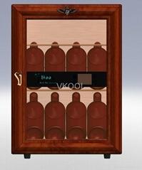 40L wood mini fridge
