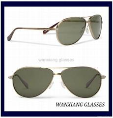 Copter Metal Aviator Sunglasses