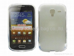 Frosted TPU Gel case for Samsung Galaxy Ace 2