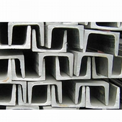 304 hot rolled pickled stainless steel channel bar