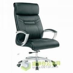 上海办公家具厂价直销各种牛皮大班椅