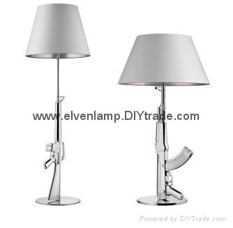 AK47 Gun Floor Lamp,M4A1 Gun Floor Light,decoration Lamp Modern Lamp Floor  Lamp ...