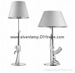 AK47 gun floor lamp,M4A1 gun floor light,decoration lamp  modern lamp floor lamp