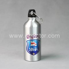 Silver stainless steel pot