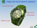 2012 New 2012 Hot Sell Fashion Watch with Calender 13 Colors Available