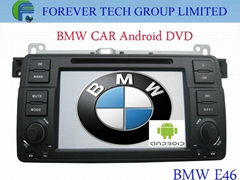 dvd gps with anroid functions for BMW