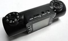 Double camera driving recorder