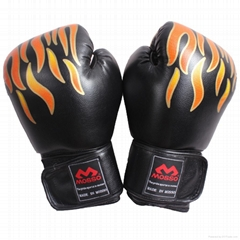 Boxing Glove muay thai Training leather gloves Boxing focus mitts