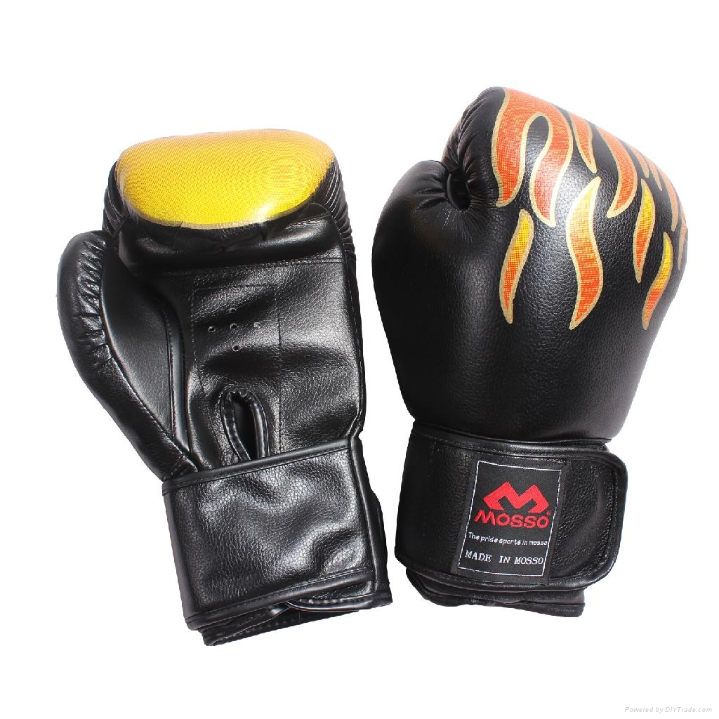 Boxing Glove muay thai Training leather gloves Boxing focus mitts 2
