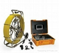 60-120m Z710DN underwater pipe inspection camera,sewer pipe inspection system 1