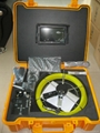 CCTV sewer&drain pipe inspection camera system with 512hz transmitter inside dvr 2